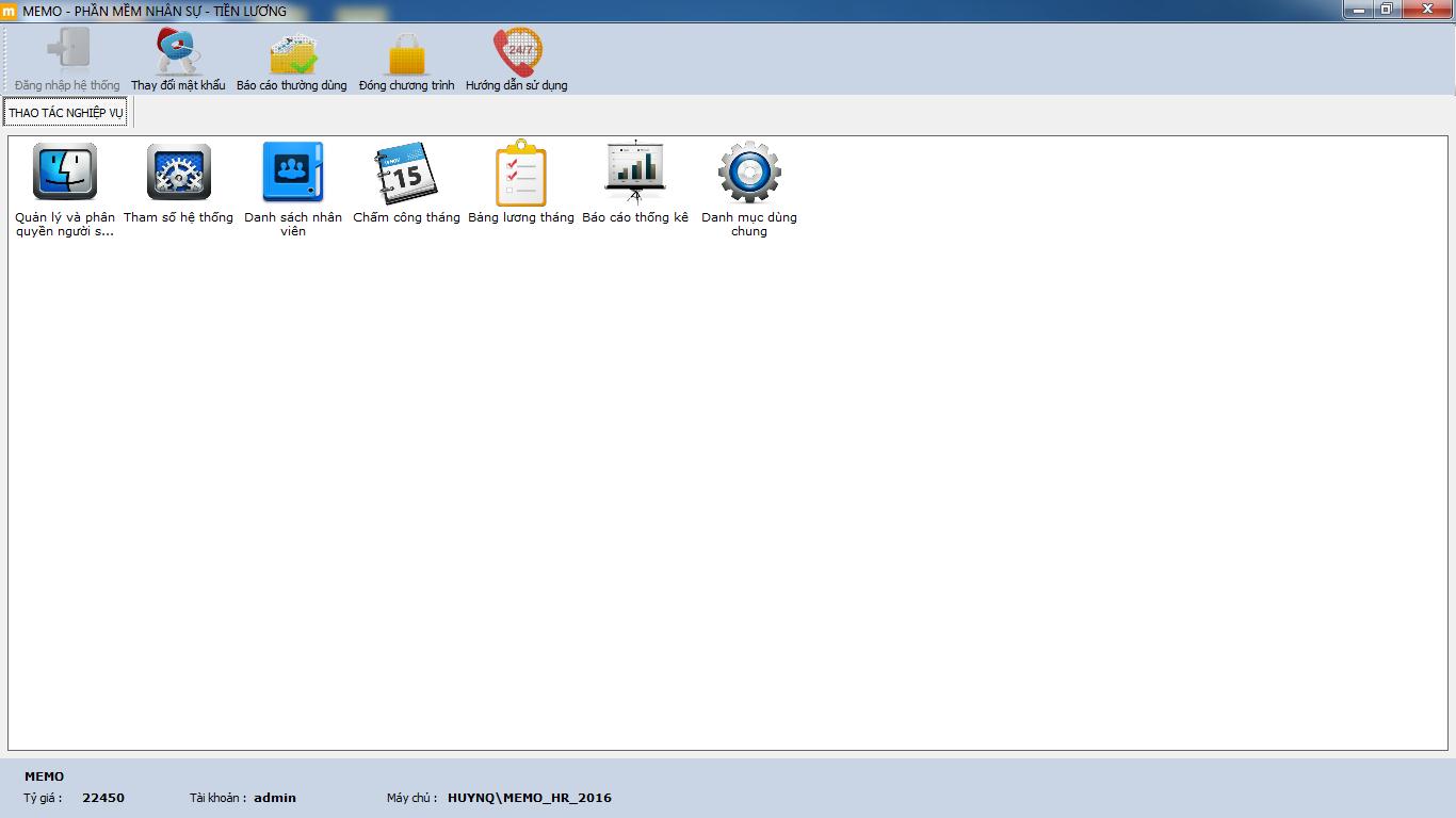phần mềm nhân sự